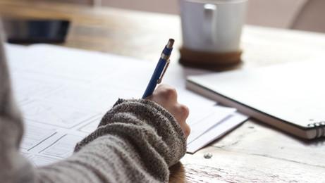 חשוב שהסטודנטים יראו את מה שאתה כותב?