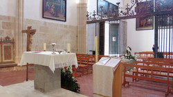 Interior de la Capilla del Santo