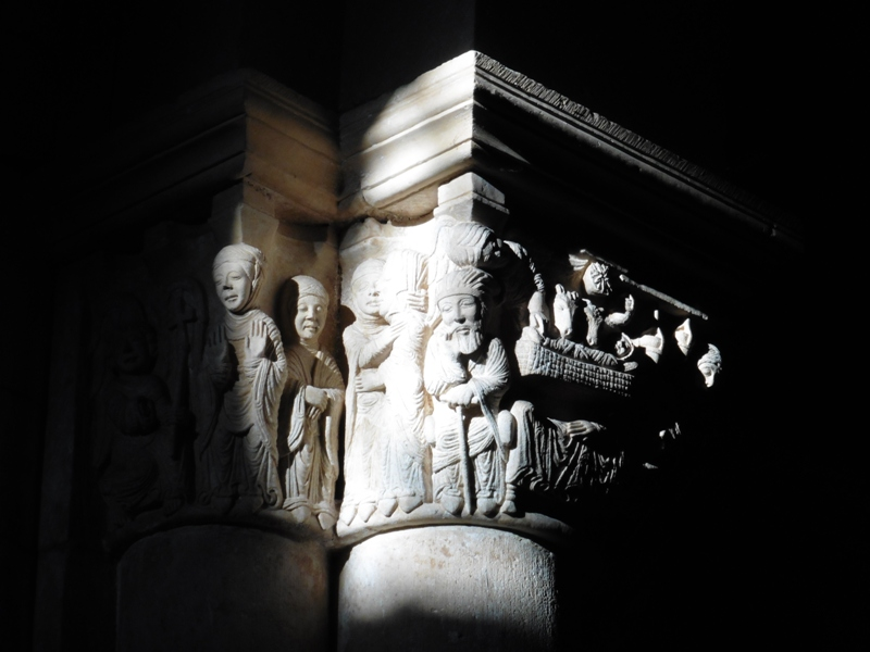 Capitel de la Anunciación