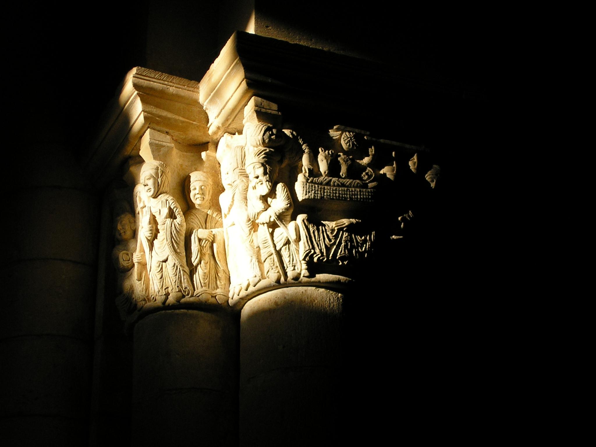 Capitel Anunciación
