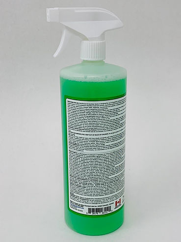 Septicsol - Disinfectant and Sanitizer Ready to Use Spray by Alpha Cleantech Labs back of