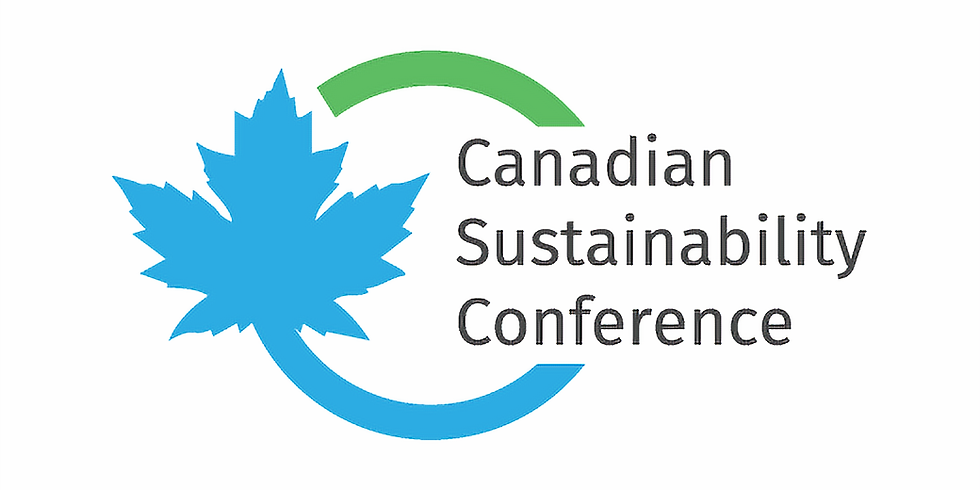 The Canadian Sustainability Conference 2019