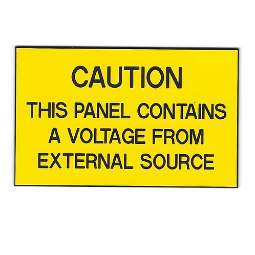 Caution - External Source