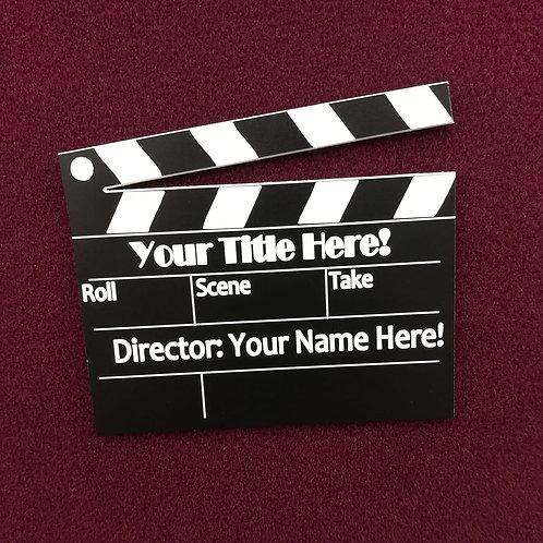 Filmmaker Name Badge