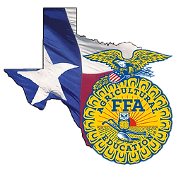 FFA logo and State of Texas clipart