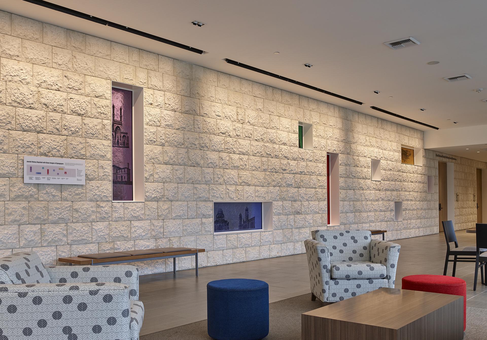Temple Beth Sholom Windows