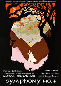 Bruckner Symphony No.4 Poster