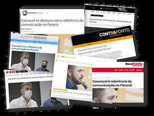 Cascavel vira referência de comunicação do Paraná