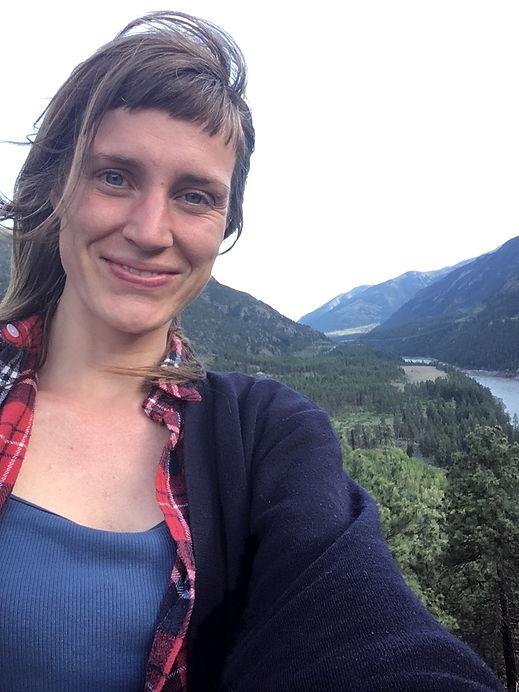 vrouw natuur canada