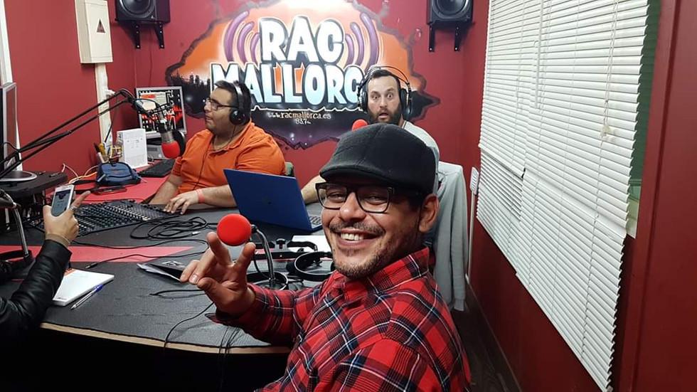 Entrevista en Rac Mallorca FM
