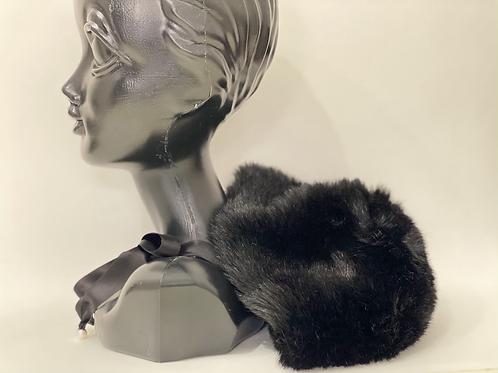 luxury eco fur cap