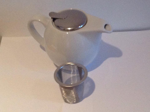 3-4 cup clipper pot white