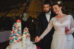 Rachel & Eds Tipi Wedding