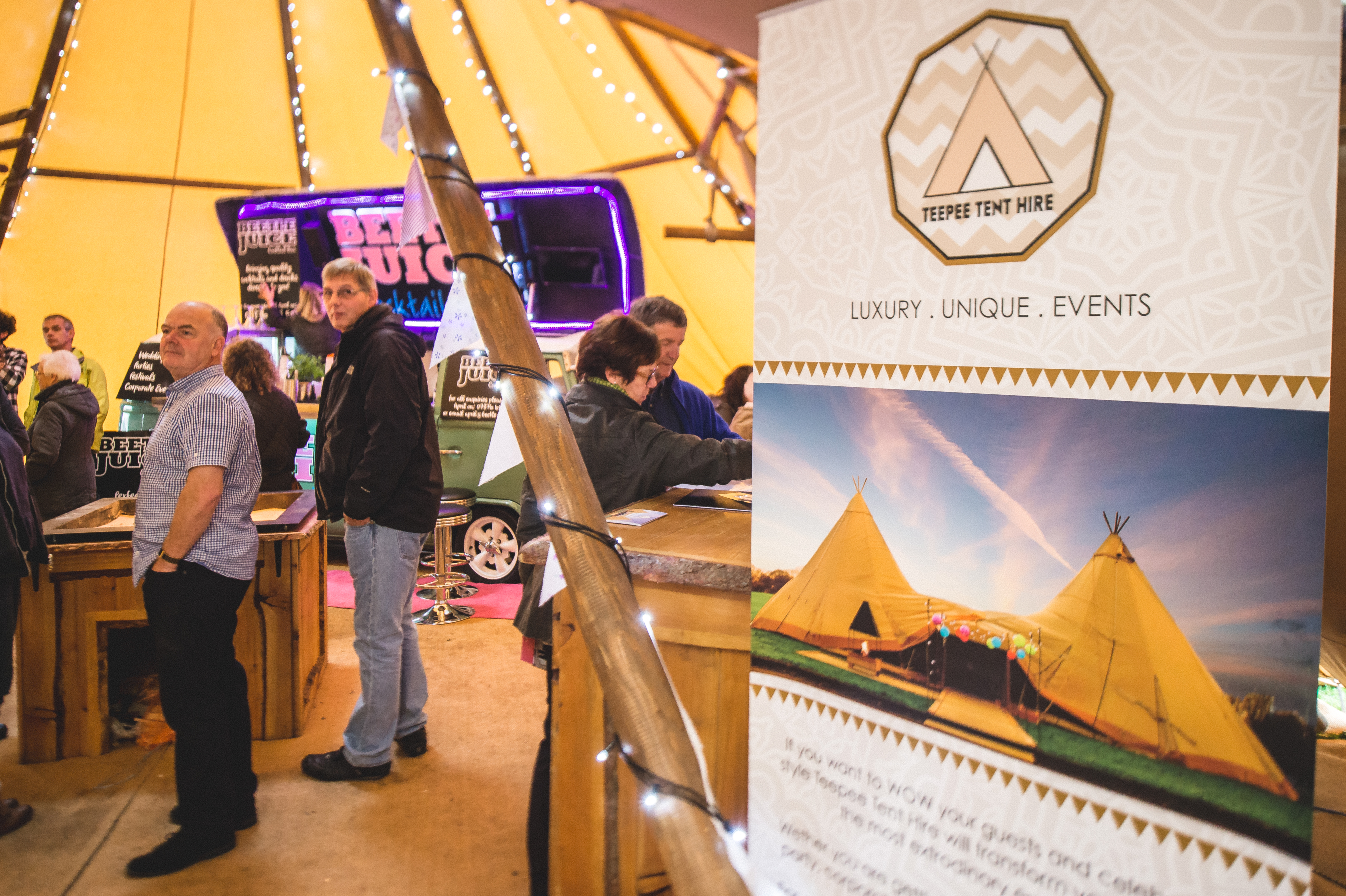 Teepee Tent Hire Open Day 081