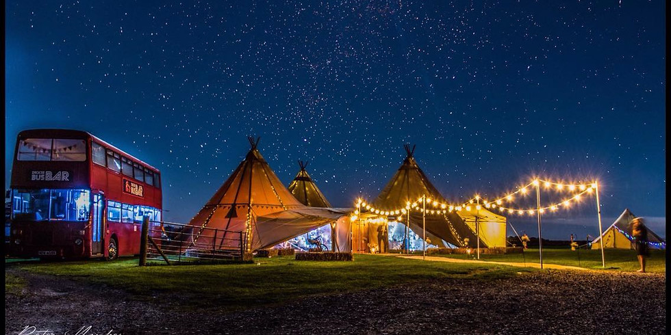 Teepee Christmas Party