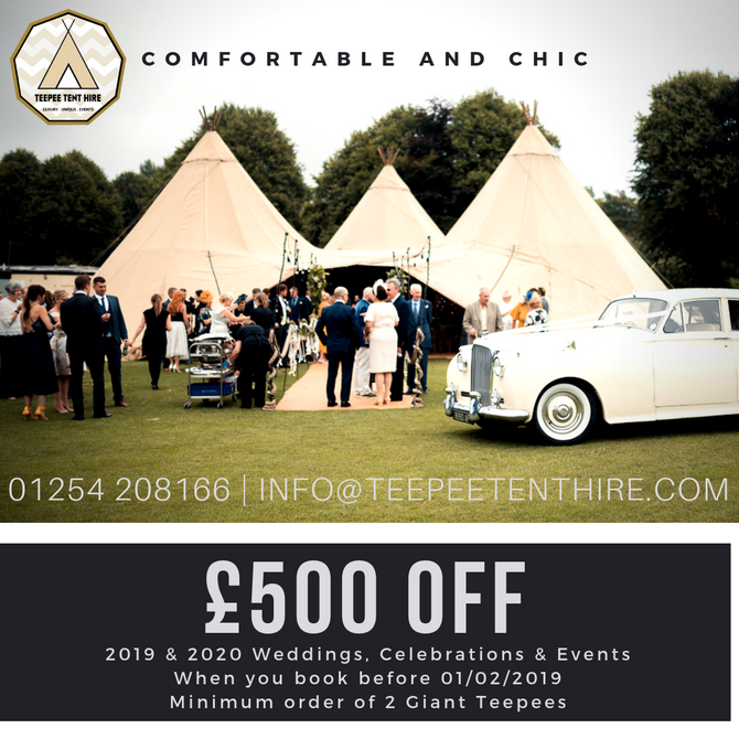 £500 OFF ALL EVENTS