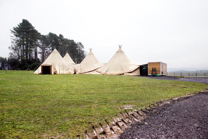 Teepee Open Weekend - Hobbit Hill March 2018