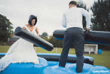 Ben and Bridgets Funfair Wedding