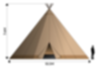 Giant Tipi - Closed Sides.png