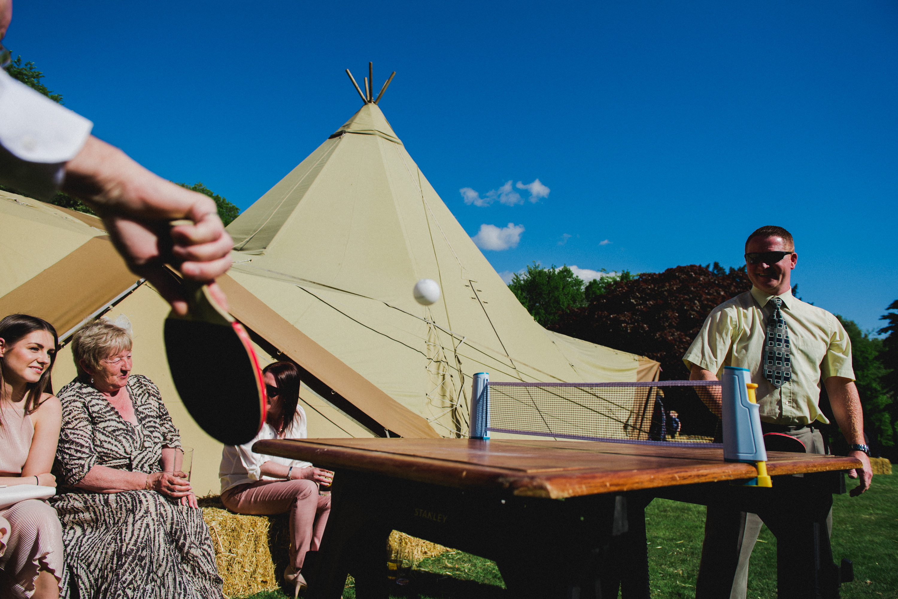 Rachel & Eds Tipi Wedding
