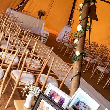 Rustic Teepee Wedding