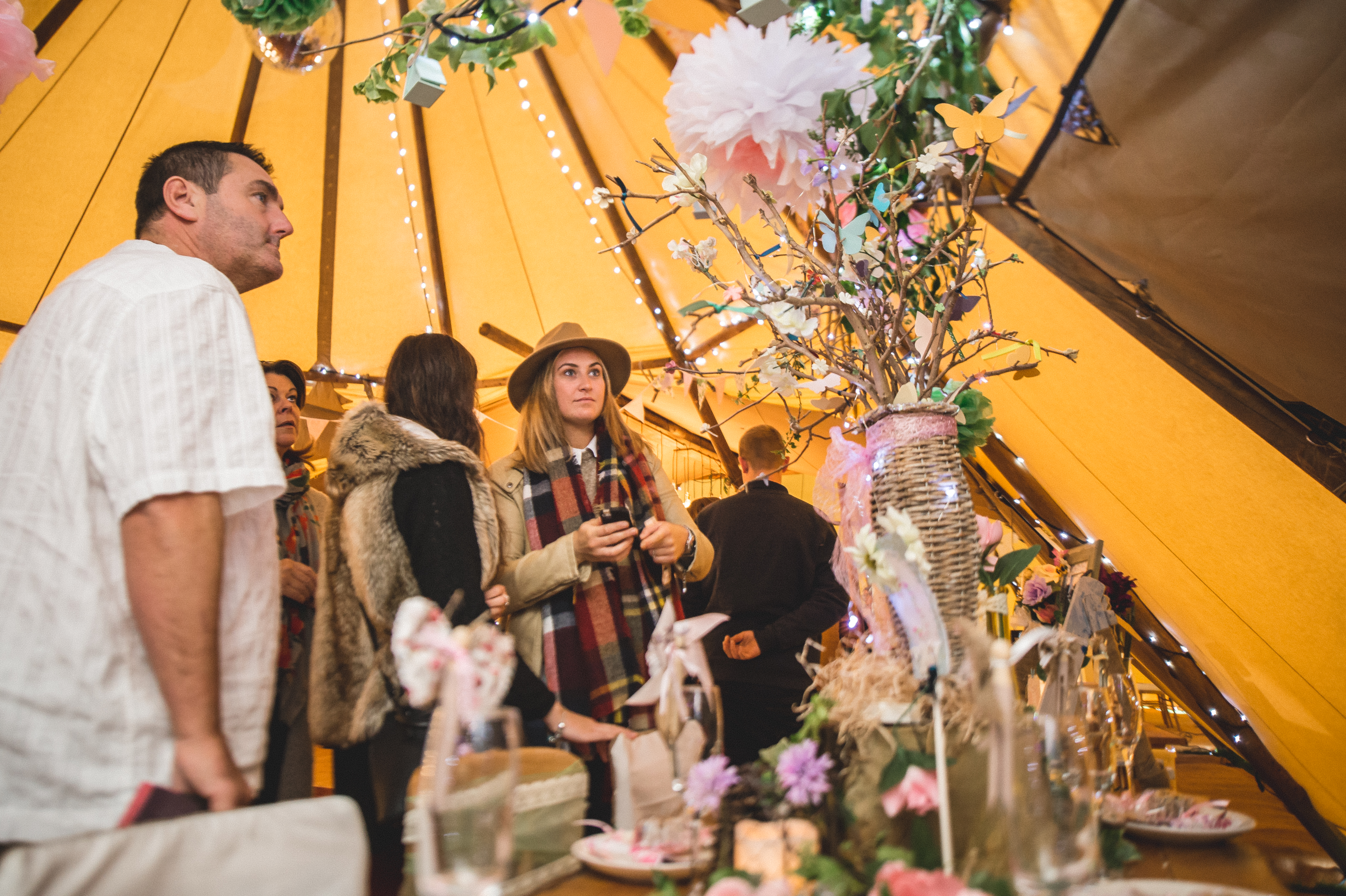 Teepee Tent Hire Open Day 082