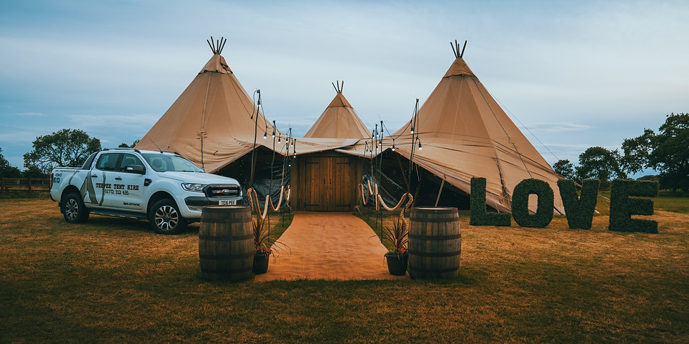 Teepee Tour - By Appointment Only
