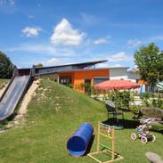 Garten Kindergartenbereich