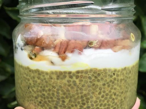 Turmeric Chai Latte Chia Pots