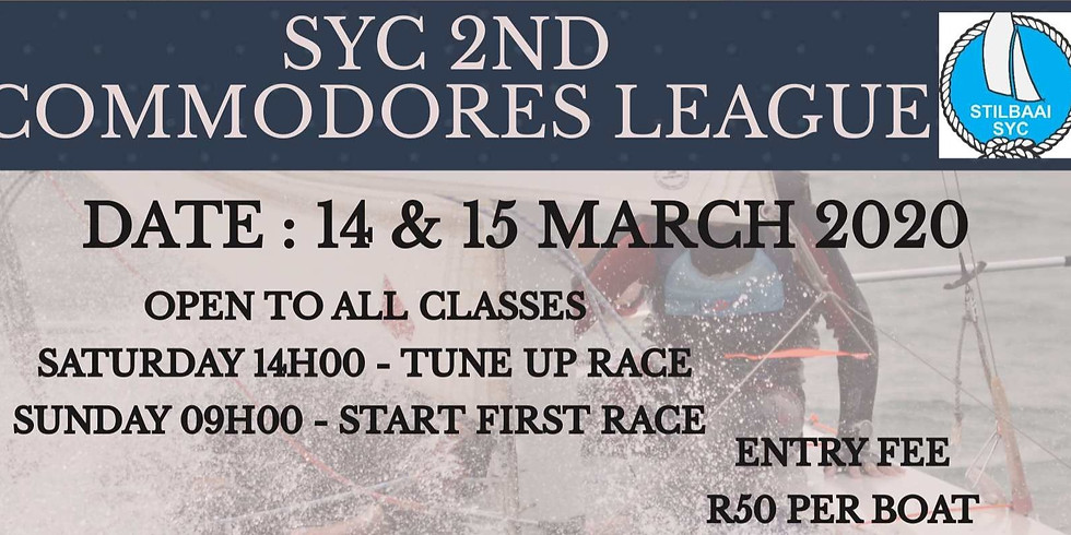 SYC -  2ND COMMODORES LEAGUE
