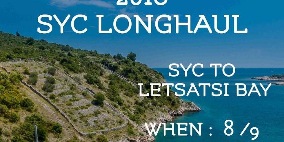 SYC LONGHAUL SYC TO LETSATSI BAY