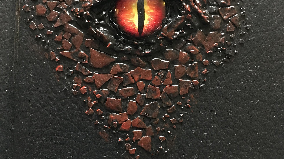 "Red ""Dragon"" eye sketchbook (small)"