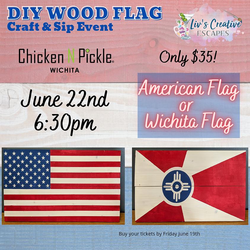 DIY Wooden Flag Event