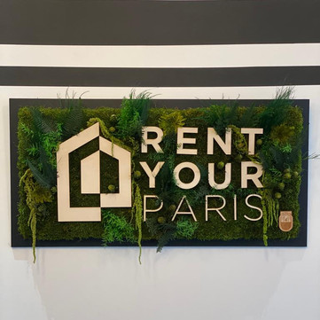 Logo végétal Rent Your Paris