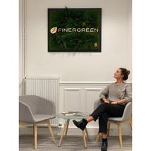 logo entreprise en végétal stabilisé