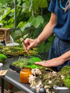 atelier création végétale