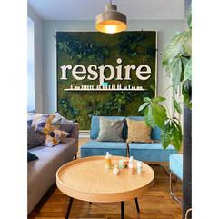 Mur végétal - Création personnalisée naturelle Respire