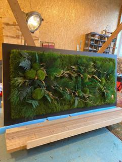 décor végétal Rouen et Paris, tableau végétal