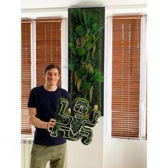 tableau et cadre végétal koh lanta rouen et paris