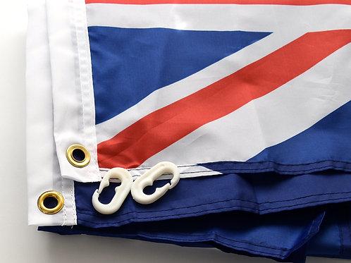 Flag - Australian National Flag - With Eyelets  900mm x 1800mm