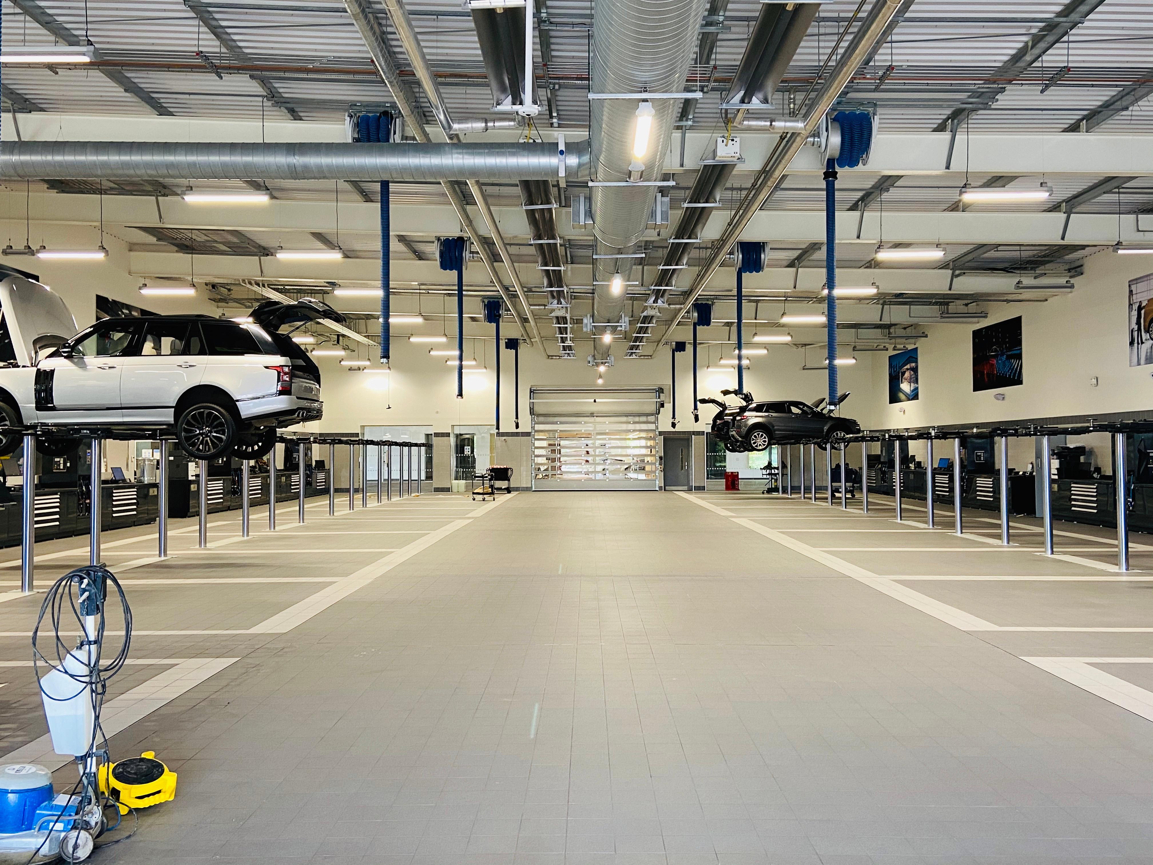 Car Workshop Deep Clean