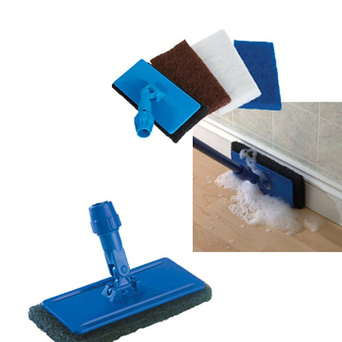 Floor Cleaning Tool with 3 Pads