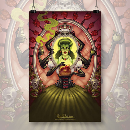 Twisted Endings: Evil Queen Art Print