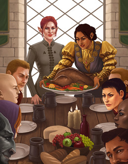 Thanksgiving In Thedas