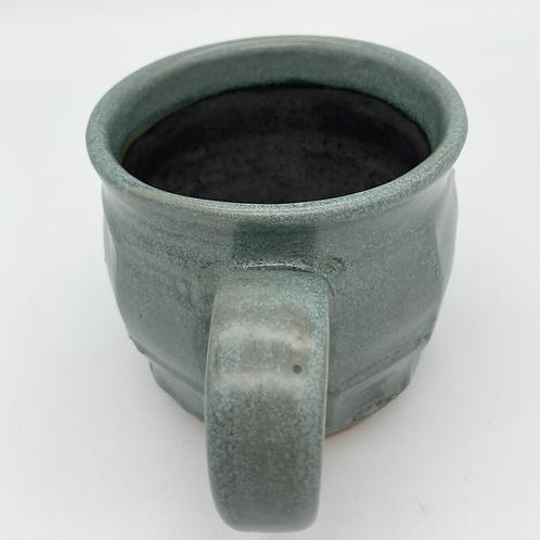Mug (blue faceted)