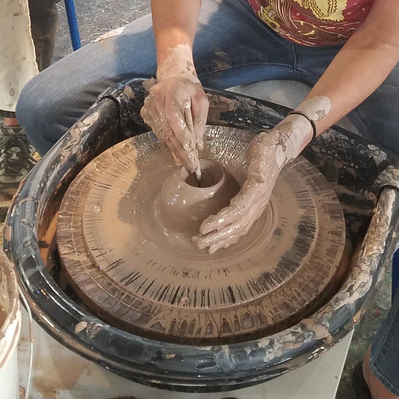 Pottery Wheel Boot Camp- 3wks- THURS AM.