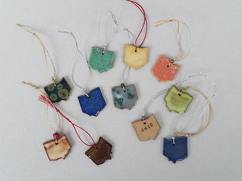 Ohio Ornaments (set of 10)