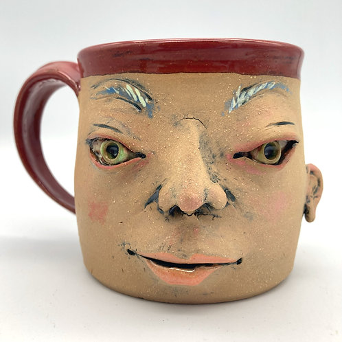 Face Mug (the one with the killer eyebrows)