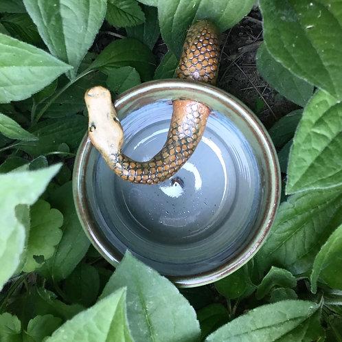 Snake Stein (vintage blue grey)