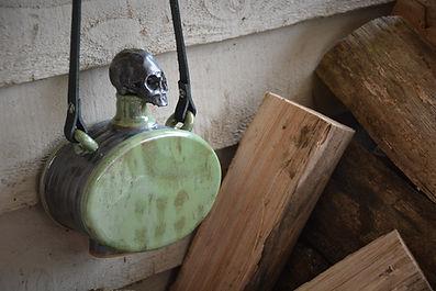 strapped skull flask grn 3.jpg
